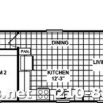 2 bedroom 2 bath office unit for oilfield housing